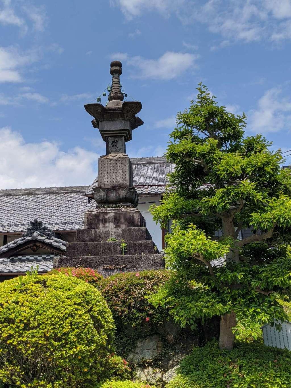 金鳳山 正法寺の塔
