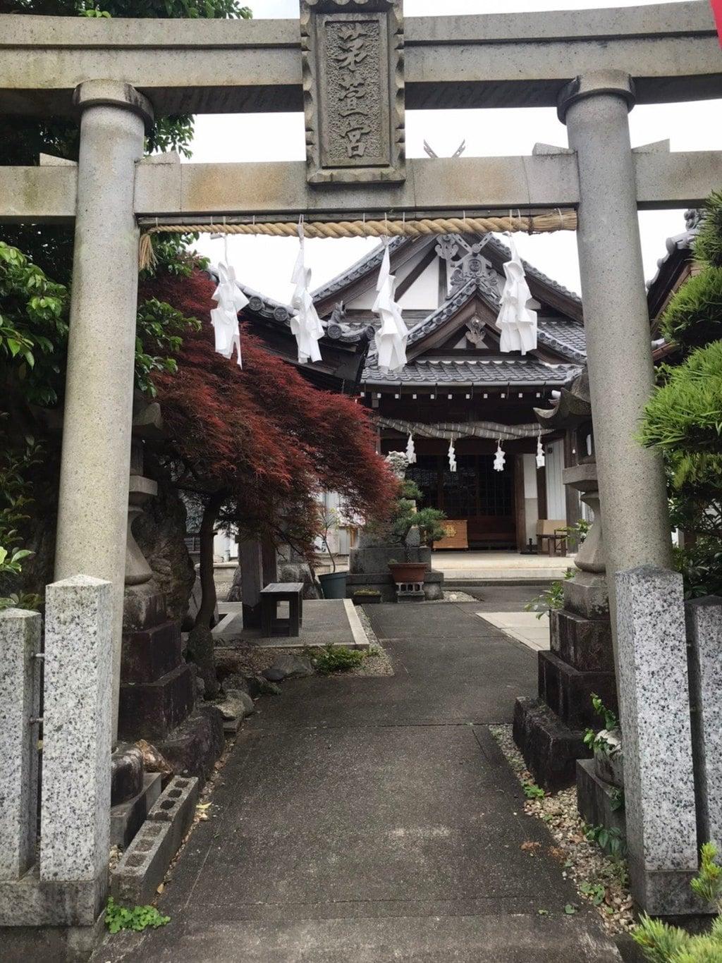 御嶽神社茅萱宮の鳥居