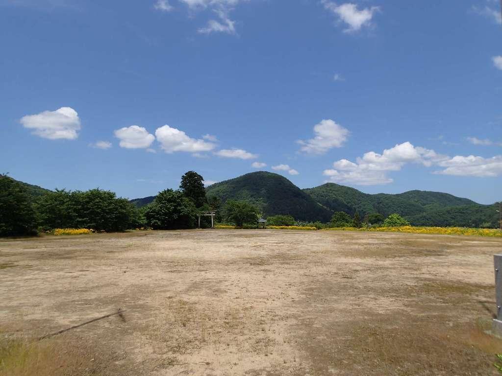 長岡神社・八幡神社・天御布須麻神社の景色