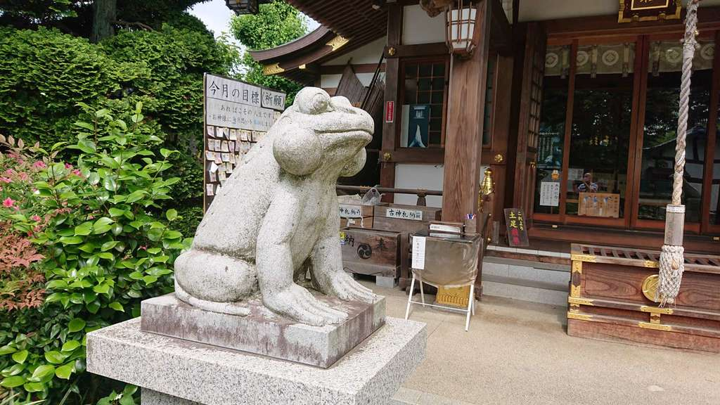 水宮神社の狛犬