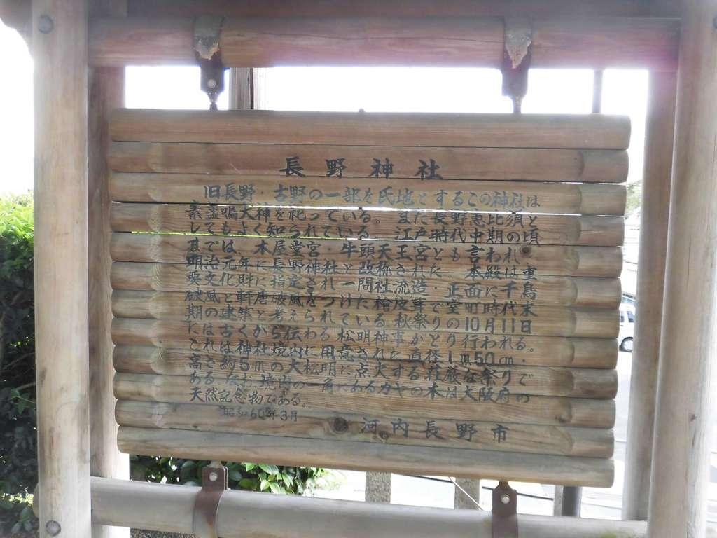 長野神社の歴史