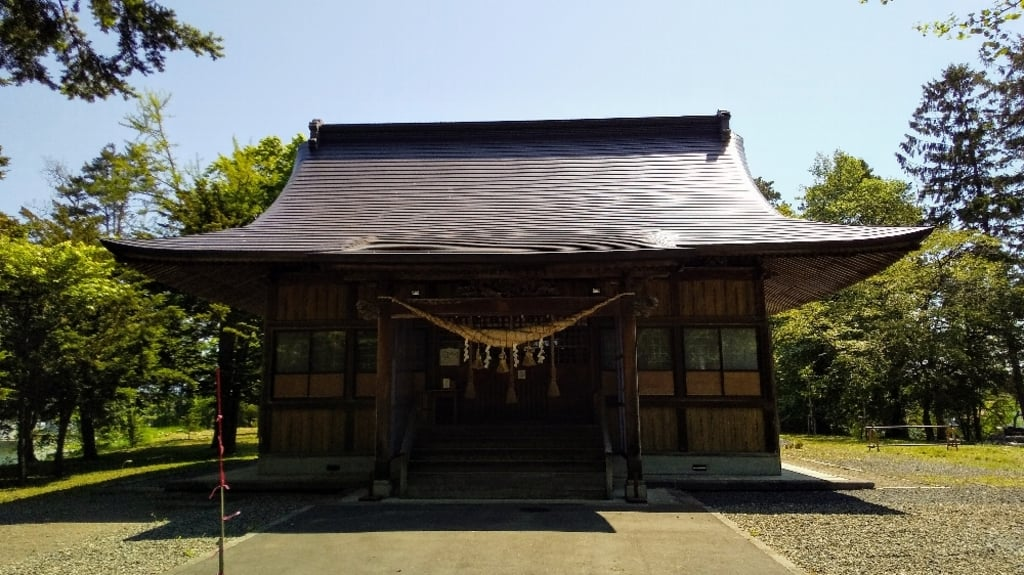 東神楽神社の本殿