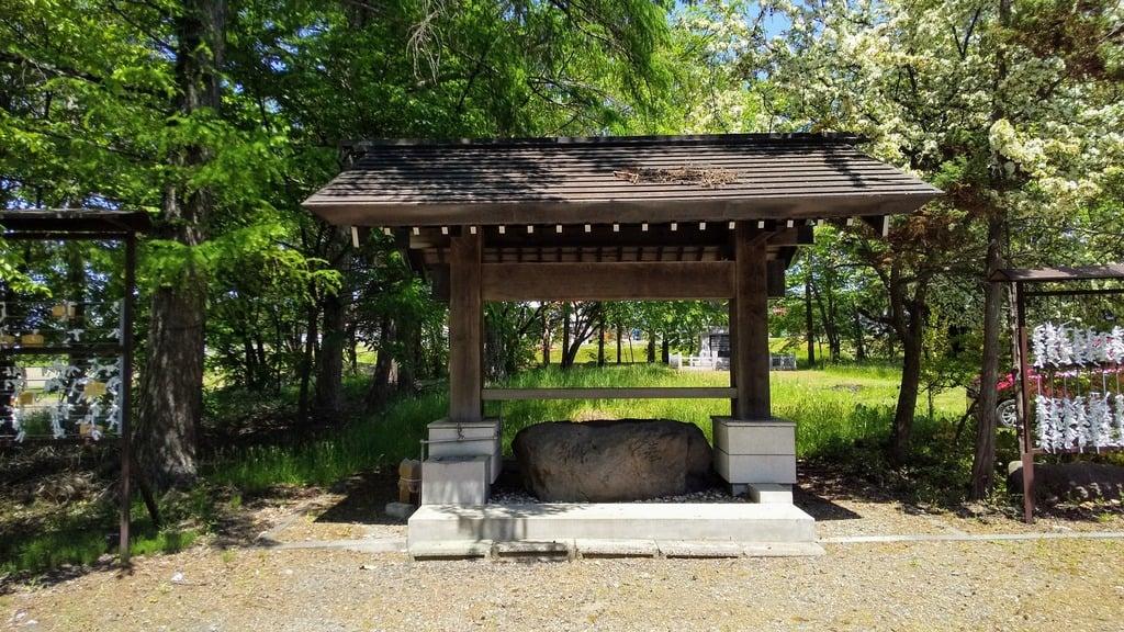 神楽神社の手水