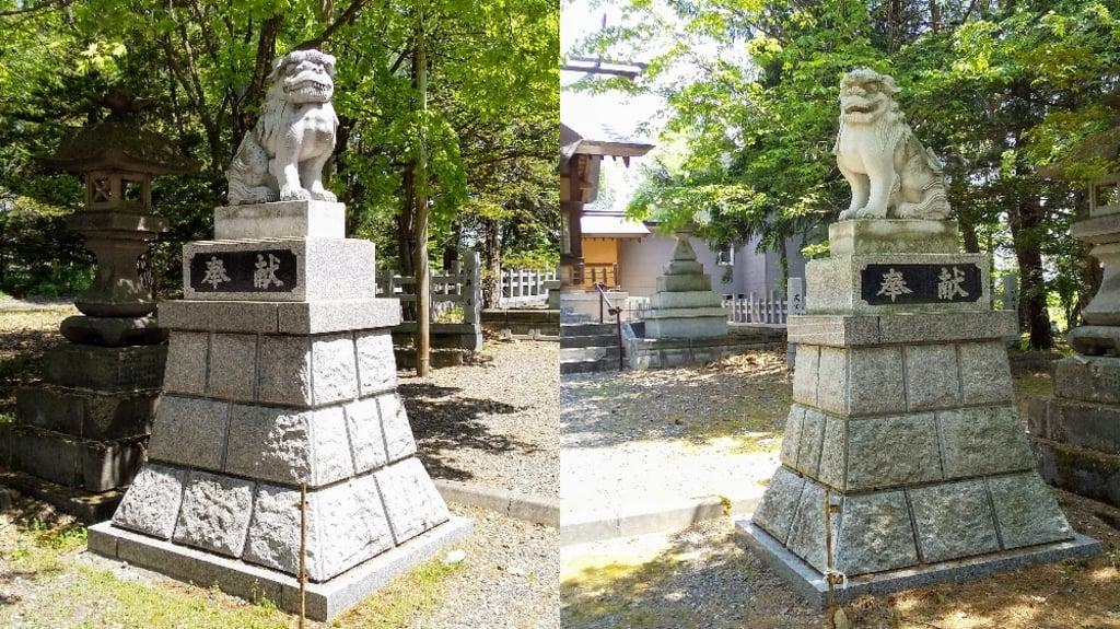 神楽神社の狛犬