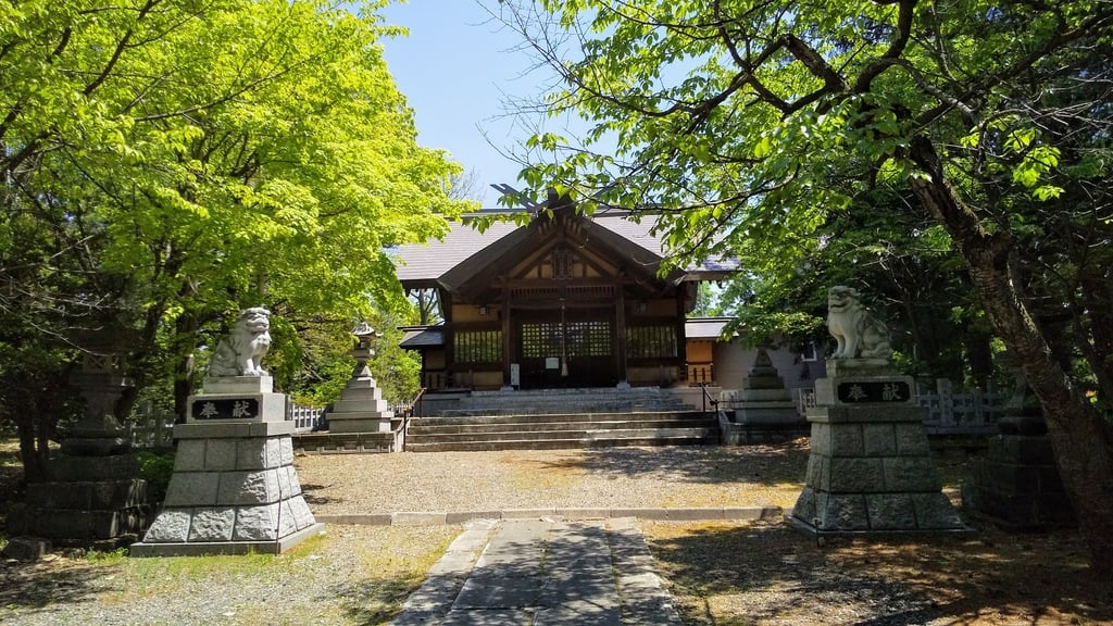 神楽神社の本殿
