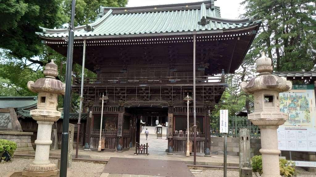 妙法寺の山門