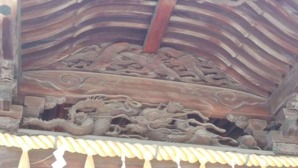 赤羽八幡神社の芸術
