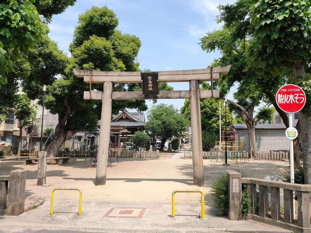 柴島神社の鳥居