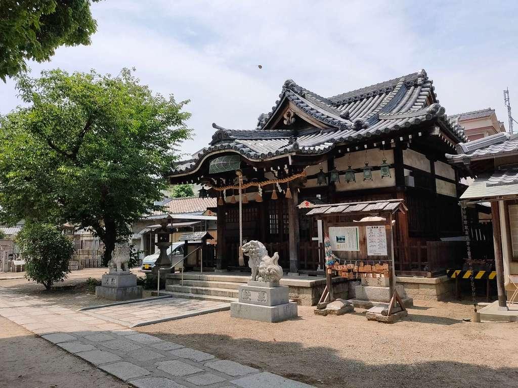柴島神社の本殿