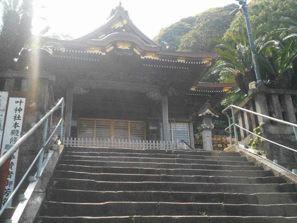 叶神社 (西叶神社)の本殿