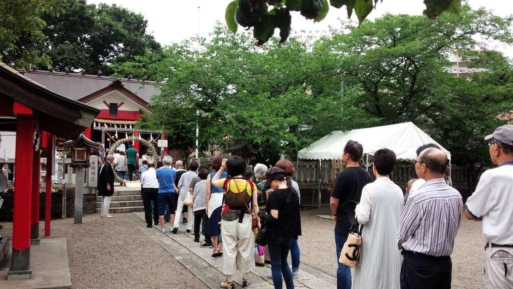 元郷氷川神社のお祭り