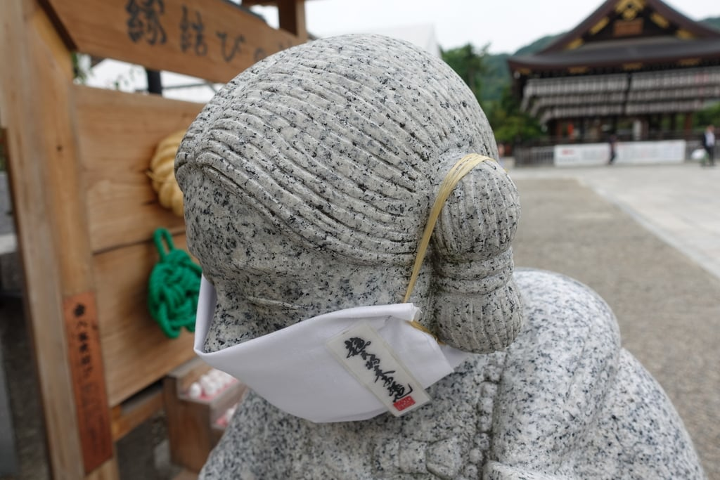 八坂神社(祇園さん)の像