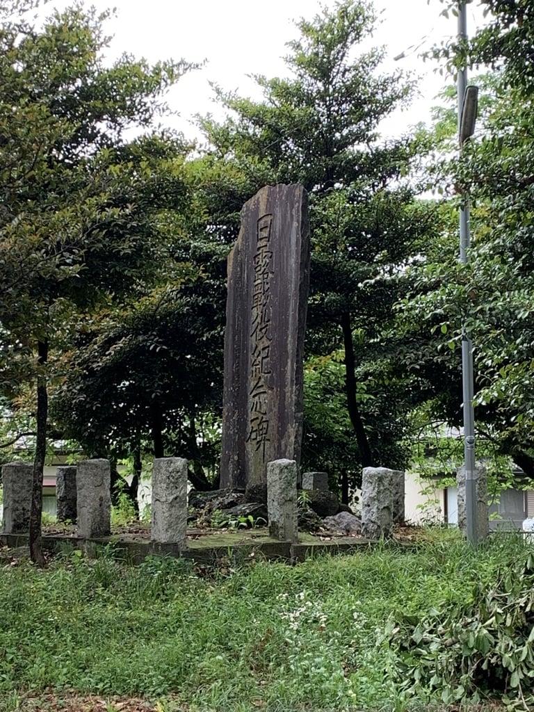 磐根神社の塔