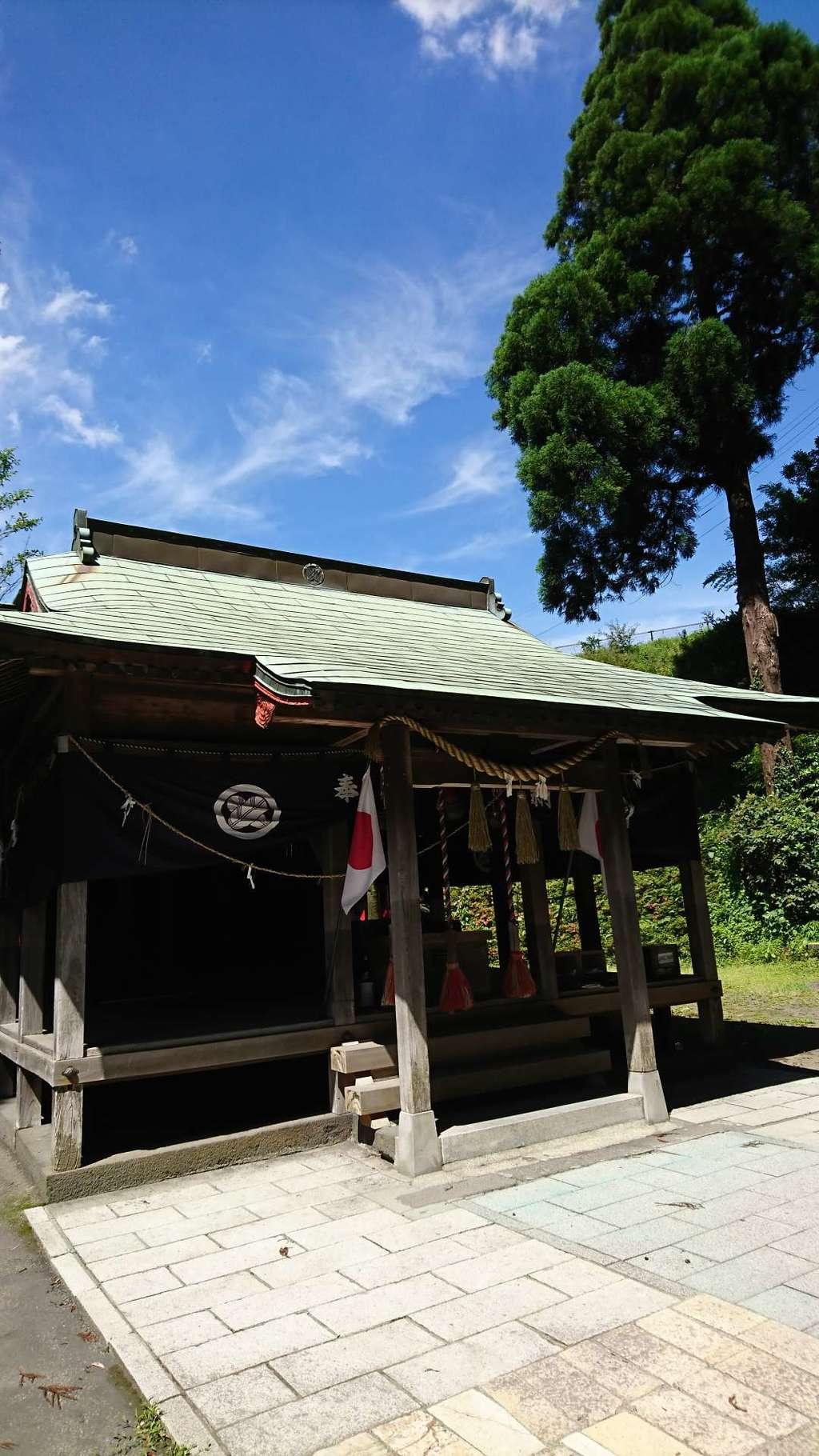白川吉見神社の本殿