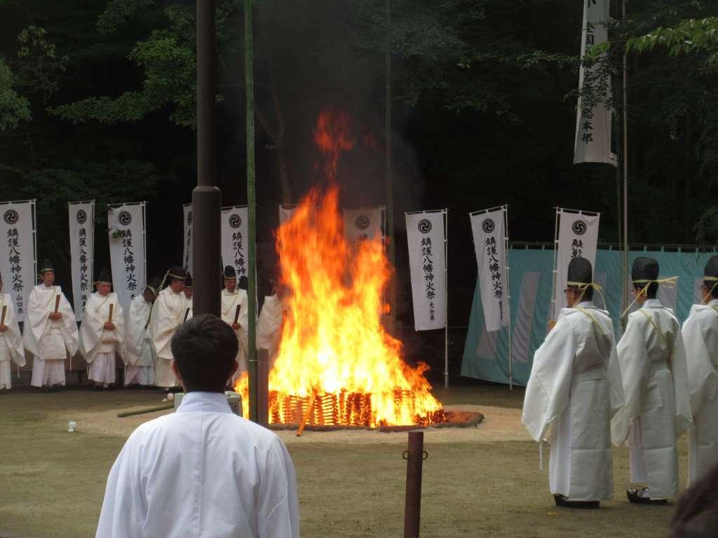 石清水八幡宮のお祭り