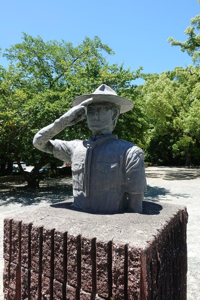 石清水八幡宮の像