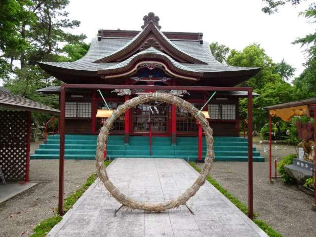 米ノ津天満宮の本殿