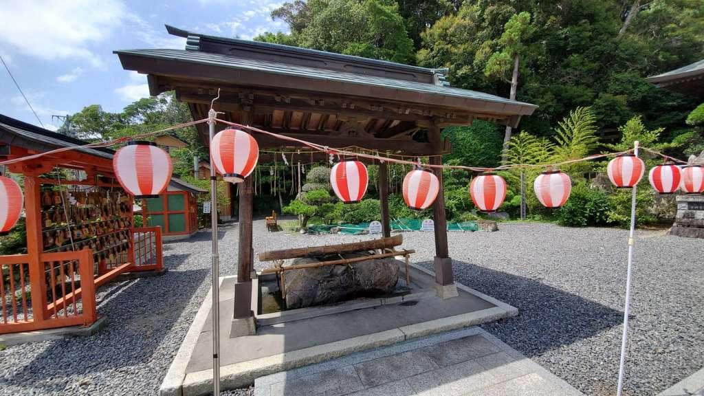 飽波神社の手水