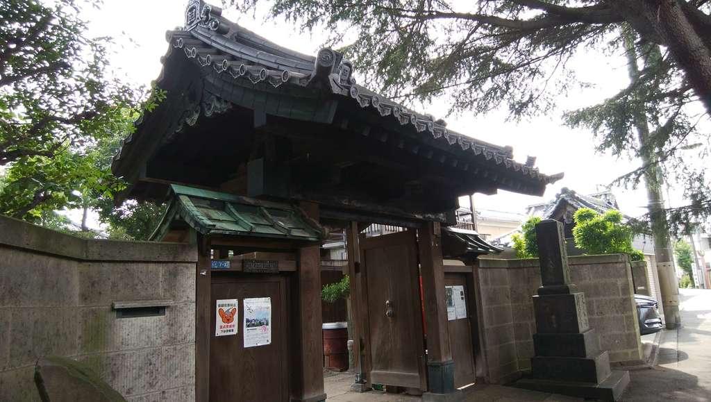妙福寺の山門