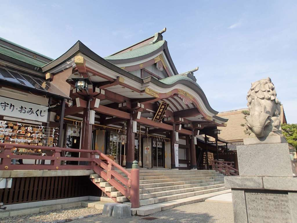 神明神社の本殿