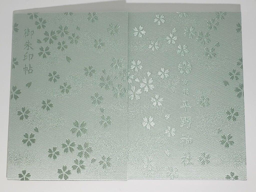 平野神社の御朱印帳