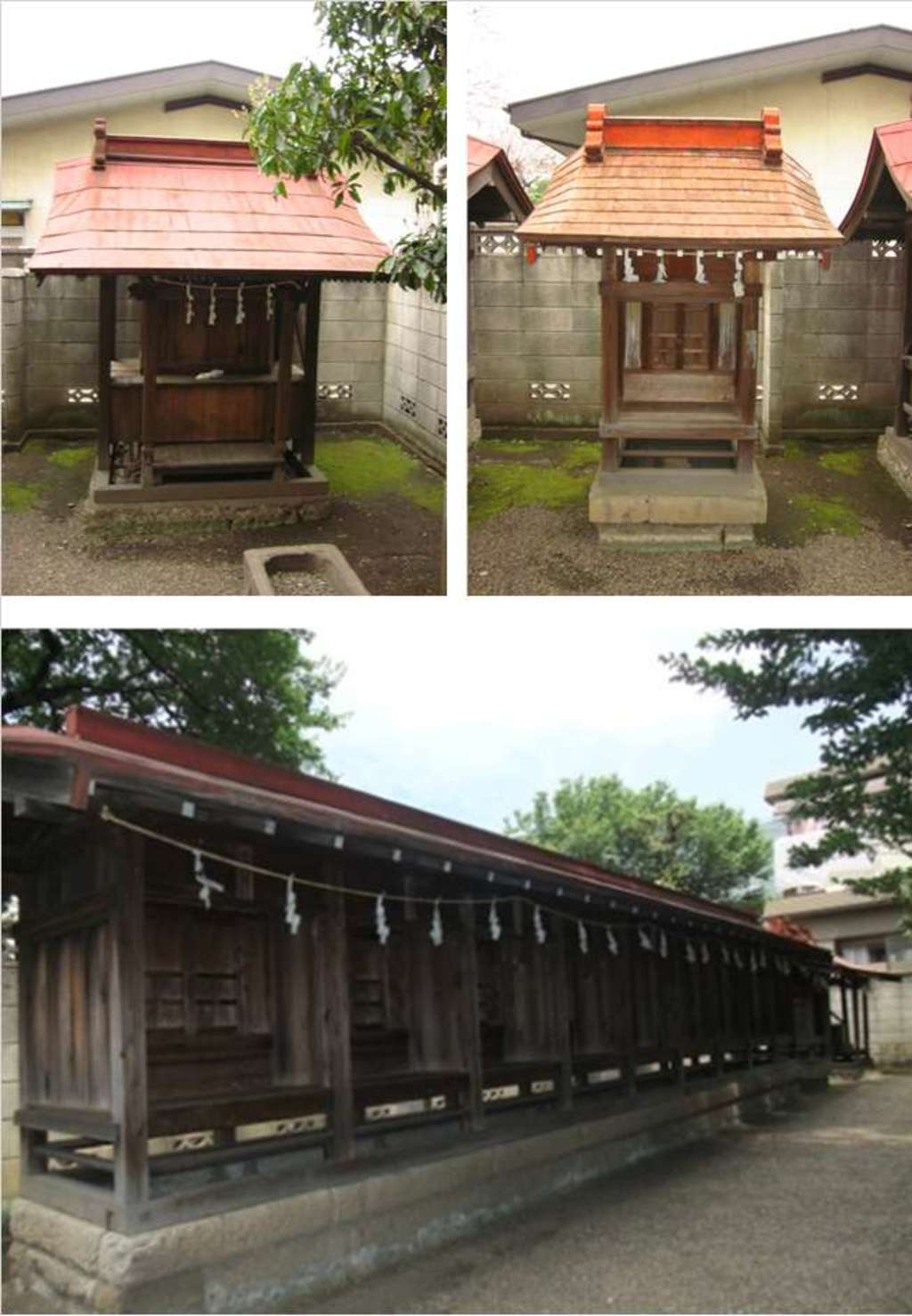 元郷氷川神社の本殿