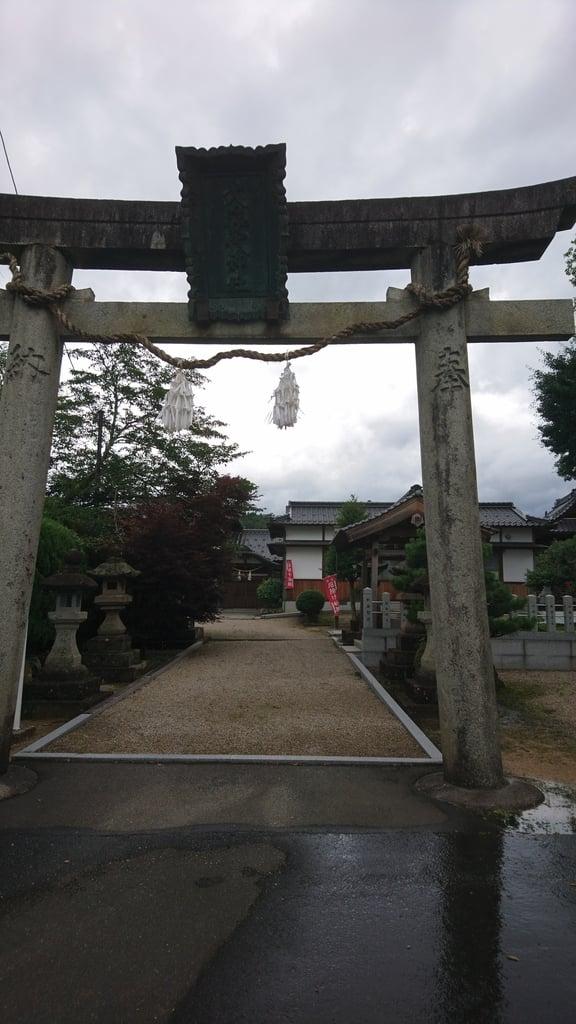 女代神社の鳥居