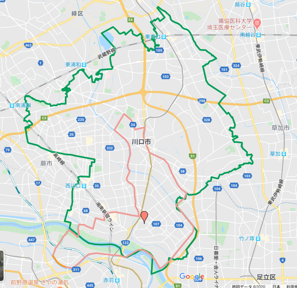 元郷氷川神社(埼玉県)