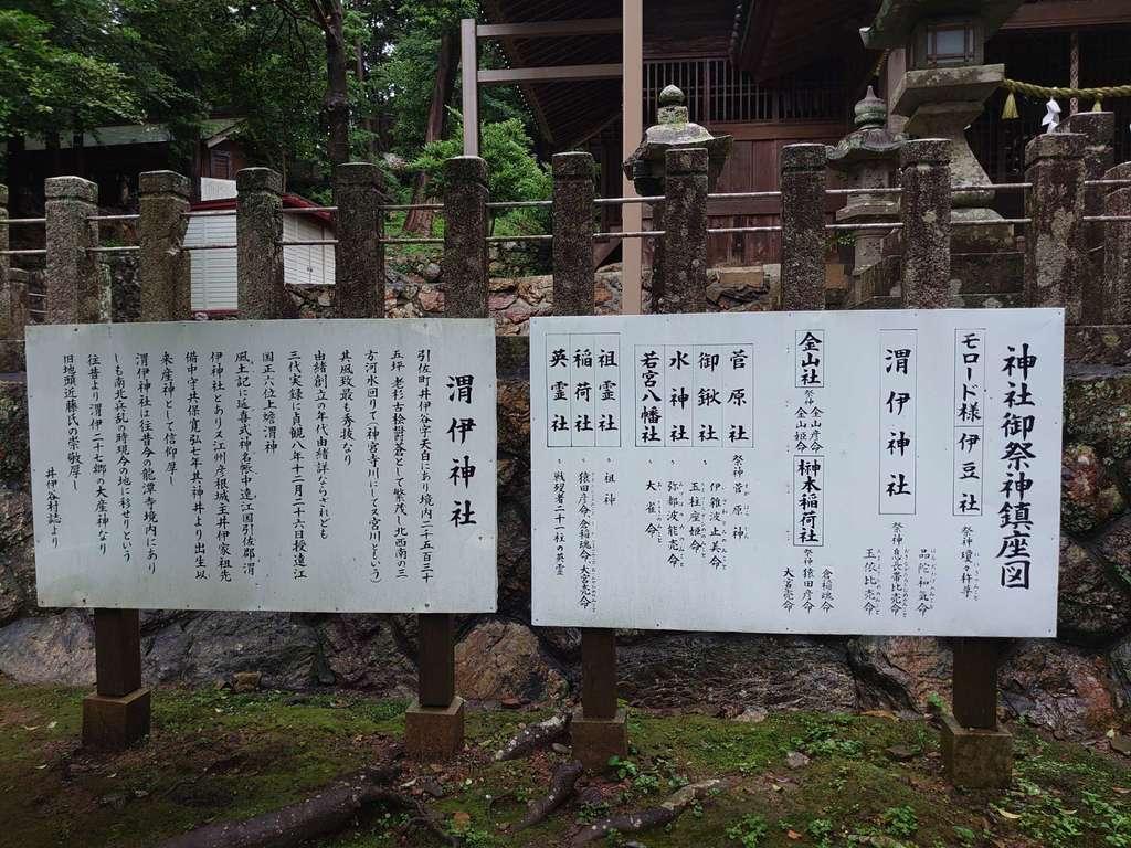 渭伊神社の歴史