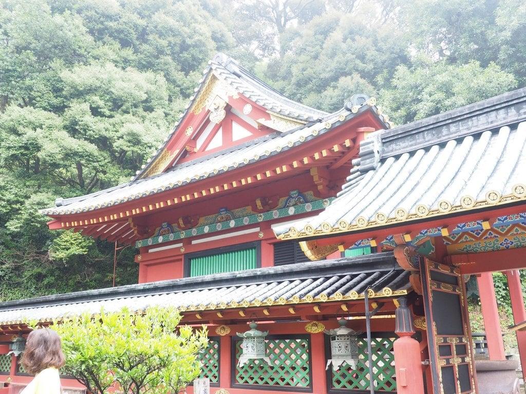 久能山東照宮の本殿