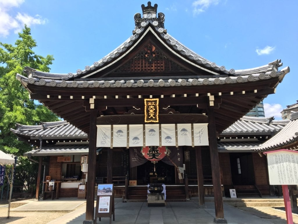 四天王寺の本殿