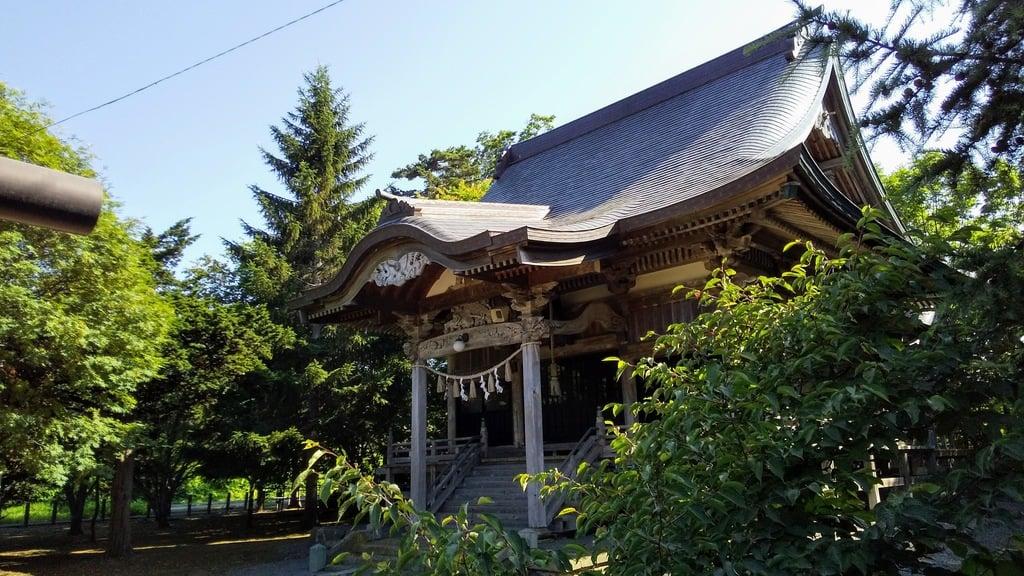 美国神社の本殿