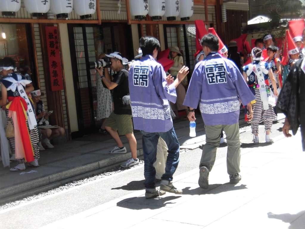 露天神社(お初天神)のお祭り