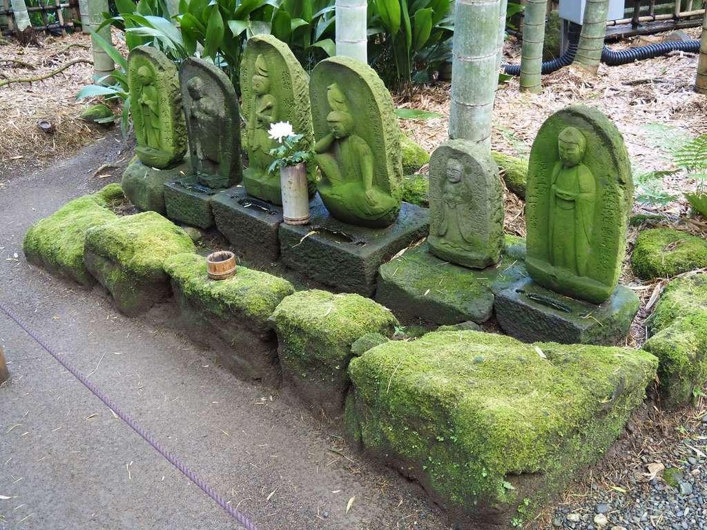 報国寺の地蔵
