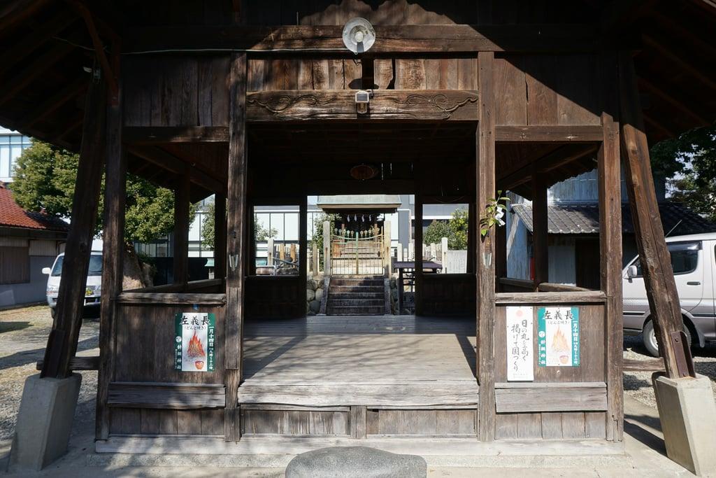 天神社(余坂天神社)の山門