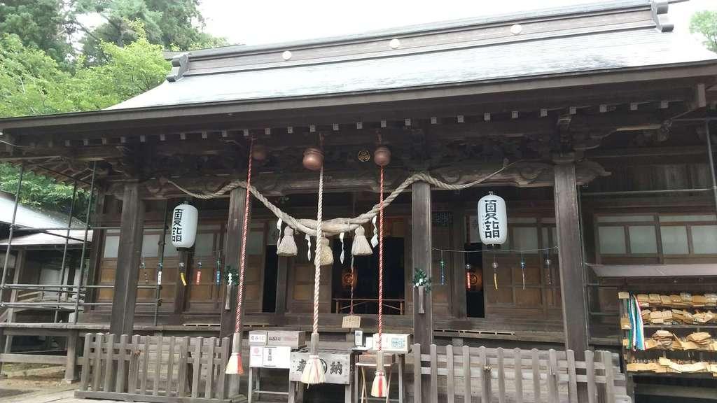 土津神社-こどもと出世の神さま-の本殿