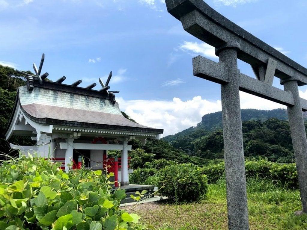 萬えびす神社の鳥居