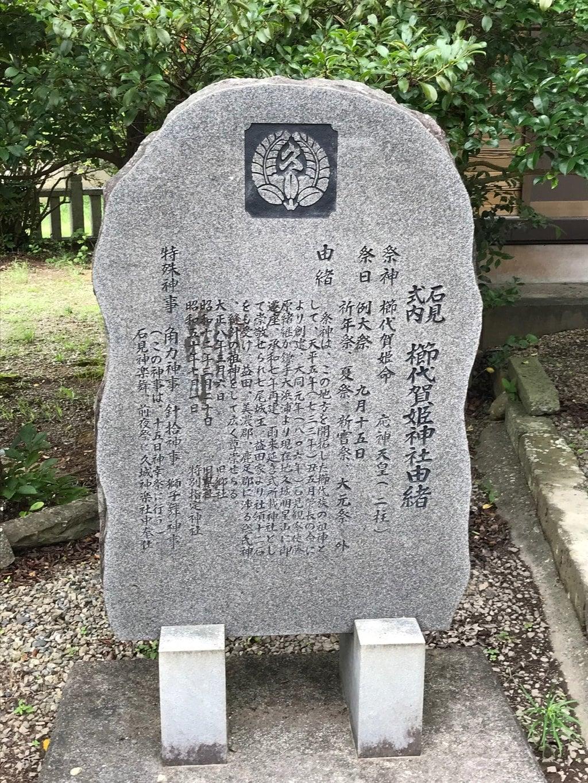 櫛代賀姫神社の歴史