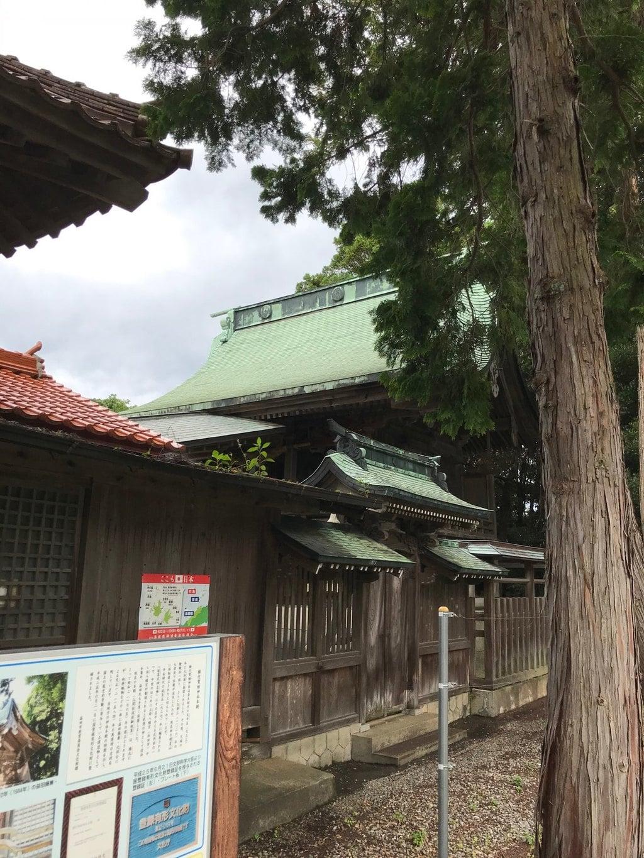 櫛代賀姫神社の本殿