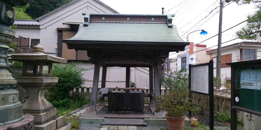 叶神社 (西叶神社)の手水