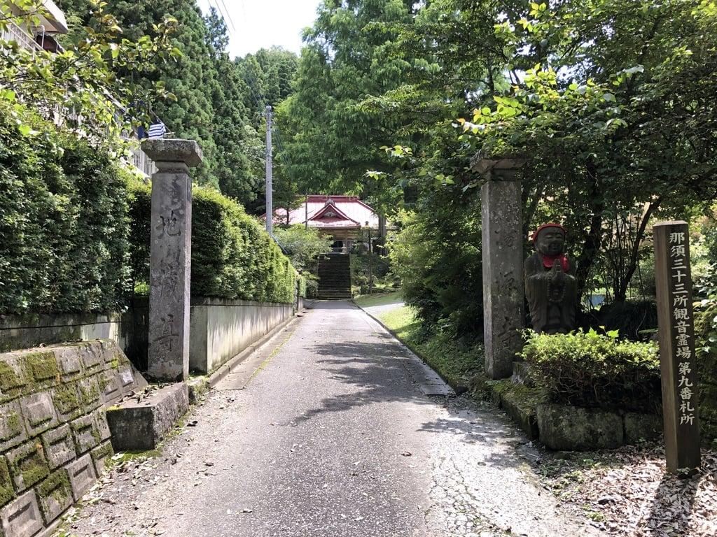 揚源寺の山門
