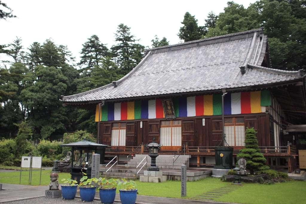 廣見寺の本殿