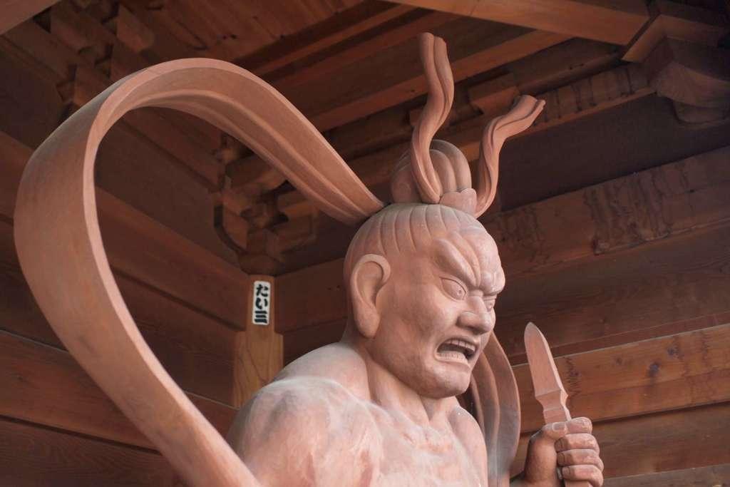 廣見寺の像