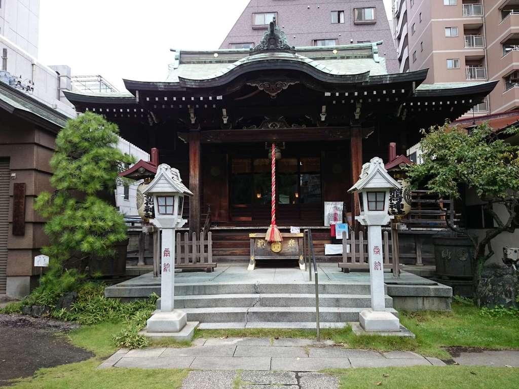 千束稲荷神社の本殿