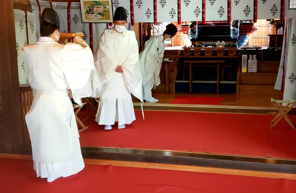 賀茂別雷神社のお祭り
