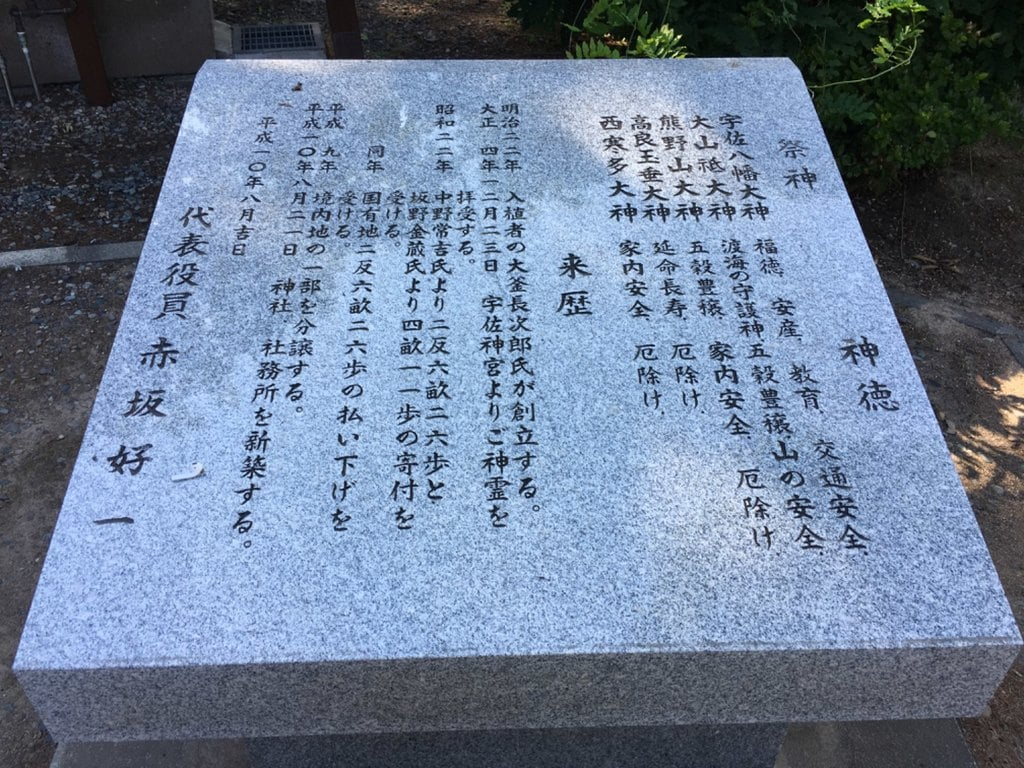 上野幌神社の歴史