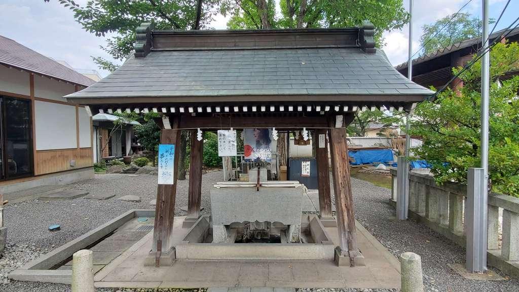 稲積神社の手水