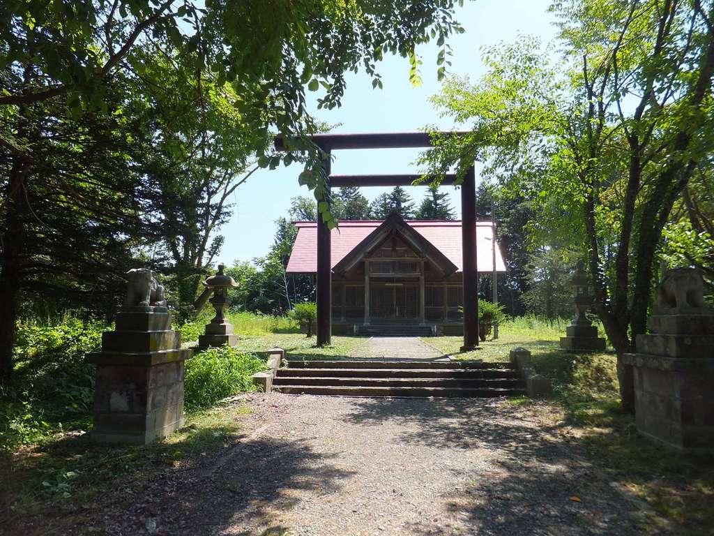 角田神社の鳥居