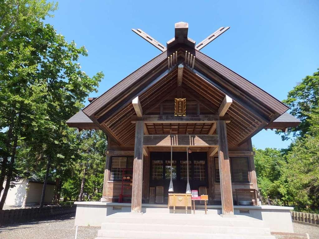 南幌神社の本殿