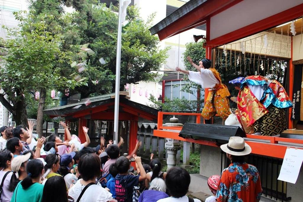 導きの社 熊野町熊野神社の神楽